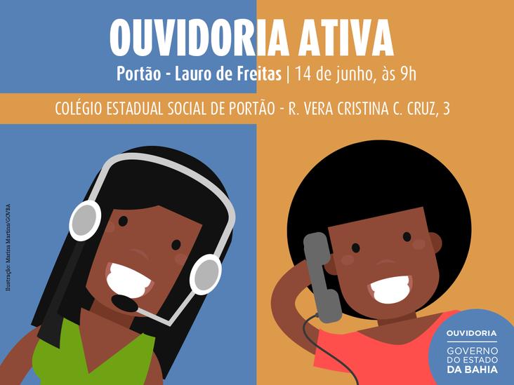 Ouvidoria Ativa em Lauro de Freitas