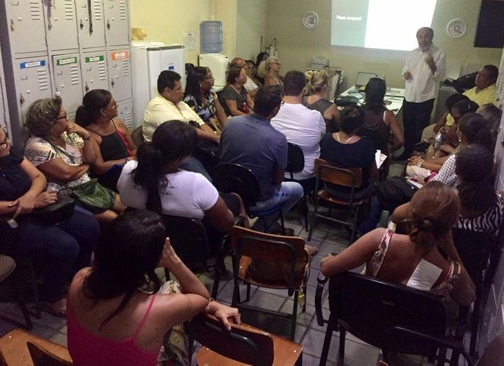 Palestra CNV escolas do Subúrbio e Cidade Baixa