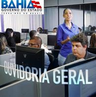 Ouvidoria Geral do Estado da Bahia. Você participa, a Bahia melhora.