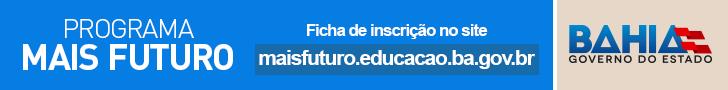 Ficha de inscrição para o Programa Mais Futuro