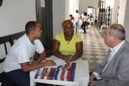 Ouvidoria Geral realiza atendimento na Igreja Ros�rio dos Pretos no Pelourinho
