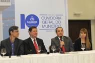 OGE participa das comemora��es aos 10 anos da Ouvidoria Municipal de Salvador