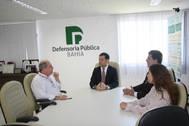 OGE e Defensoria Pública da Bahia discutem parceria