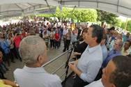 Governo atende demanda de Itiru�u e inaugura sistema de abastecimento de �gua