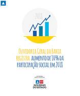 Ouvidoria Geral registra aumento de 10% da participação social em 2018